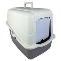 KRAMAR Hooded Cat Litter Box