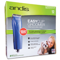 Andis Easy Clip Groom 12-piece Dog Clipper Kit with Case