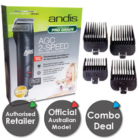 Andis AGC2 2 Speed Dog CLIPPERS Combo Set