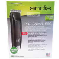 Andis Pro Animal EBC MBG4 Dog Clippers Kit