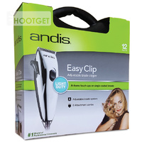 Andis Whisper EasyClip Adjustable Blade Dog Clipper - PM1