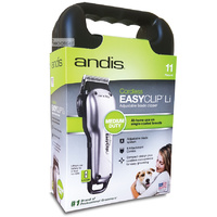 Andis Easy Clip Li Adjustable Blade Cordless Dog Clipper LCL