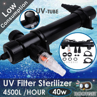 Aquarium Pond Fish Tank UV Sterilizer - 4500L/h