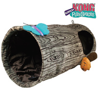 KONG Play Spaces Burrow Cat Tunnel With Toy