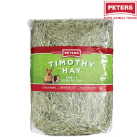 Peters Timothy Premium Grass Hay Rabbit Guinea Pig Food 1kg