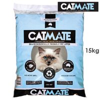 15kg Catmate Wood Pellet Cat Litter