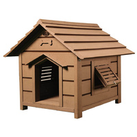 LUPERCUS Basic Engineered Wood Dog Kennel - Size 1