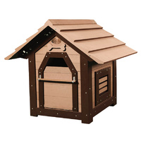 LUPERCUS Castle Engineered Wood Dog Kennel - Size 1