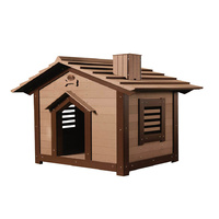 LUPERCUS Saltbox  Engineered Wood Dog Kennel - Size 1