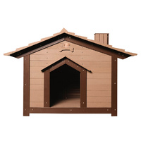 LUPERCUS Saltbox  Engineered Wood Dog Kennel - Size 2