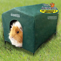 HoundHouse Cavy Guinea Pig House Green