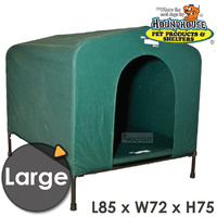 HoundHouse Original Canvas Kennel Large