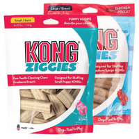 KONG ZIGGIES STUFF'N Dog Treat - 2 Sizes