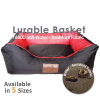 LUPERCUS Water Resistant Pet Dog Baskets