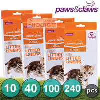 Cat Kitty Litter Liners Scented Bags Poo Bags