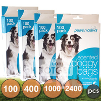 Dog Poo Scented Waste Bags