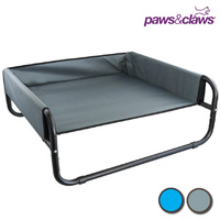 Walled Suspension Pet Raised Frame Dog Bed - 3 Sizes/2 Colours