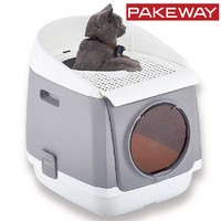 Pakeway Tomcat Two Door Entry Cat Litter Box