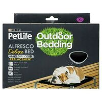 Purina PetLife Alfresco Deluxe Dog Bed Replacement Cover - 4 Sizes