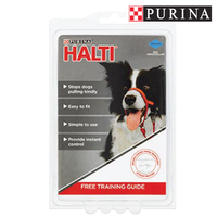 Purina PetLife HALTI Headcollar Red