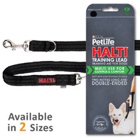 Purina Petlife Halti Lead Double Ended Leash - 2 Sizes