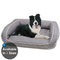 Purina Petlife Quilted Orthopedic Dog Sofa Bed - 2 Sizes
