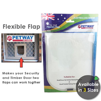 Petway Soft Replacement Dog Door Flap- 3 Sizes