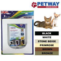 PETWAY Pet Access Door for Security Door -  6 Colours