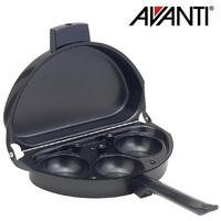 Avanti Omelette Pan with Egg Poacher Non Stick Saucepan