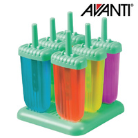 AVANTI Frozen Groovy Ice Block Moulds 6 Piece Set