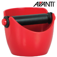 Avanti Coffee Knock Box Red