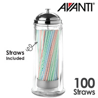 Avanti Glass Straw Dispenser