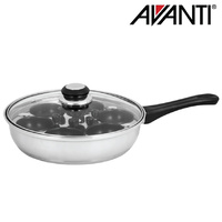 Avanti 6 Egg Poacher 24cm w/ Non-Stick Cups
