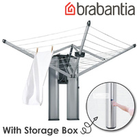 Brabantia WallFix Rotary Fold Away Clothes Line