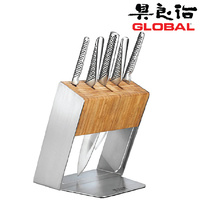 Global Knives KATANA 6pc Knife Block Set