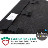 Superior Pet Goods Twill Canvas Dog Bed Cover