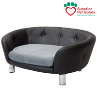 Superior Pet Goods Chesterfield Dog Bed Sofa