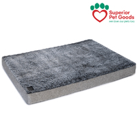 Ortho Dog Mattress Mat Artic Faux Fur Large
