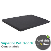 Superior Pet Goods Canvas Water Resistant Dog Mats - 5 Sizes