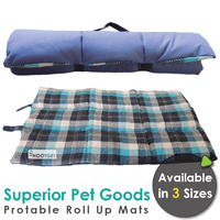 Superior Pet Goods Portable Roll Up Mats - 3 Sizes