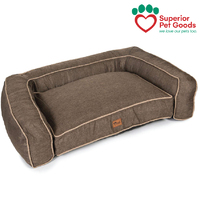 Scooby Dog Sofa Bed Lounge Thatch Chocolate