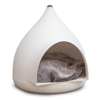 Superior Pet Goods The Pod Cat Cave Bed Igloo