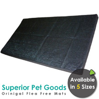 Superior Pet Goods Original Flea Free Dog Mats - 5 Sizes