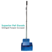 Superior Pet Goods Heavy Duty Steel Pooper Scooper