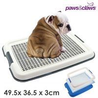 Pet Dog Puppy Potty Portable Training Pad Toilet Tray 49.5 x 36.5cm