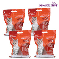 4 x Silica Crystals Cat Litter 3.8L