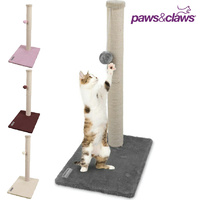Paws & Claws Cat Tree Scratching Post with Toy