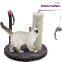 Catsby Cat Scratcher Post Sisal Rope Activity Playground
