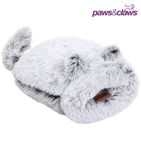 Calming Plush Snuggler Cave Cat Bed