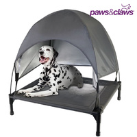 Elevated Dog Bed Trampoline Cot With Canopy